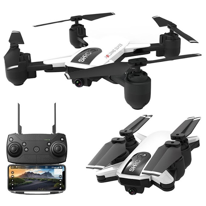 Hot Sale SHRC H1G 1080P 5G Camera HD Quadcopters FPV GPS Follow Me Mode Foldable 25mins Flight Time RC Drone Quadcopter RTF