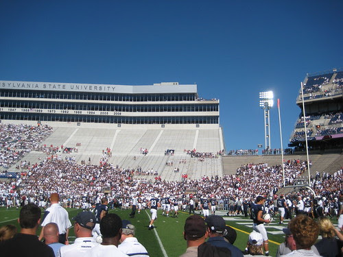 PSU vs Temple - 30 Minutes before Kickoff