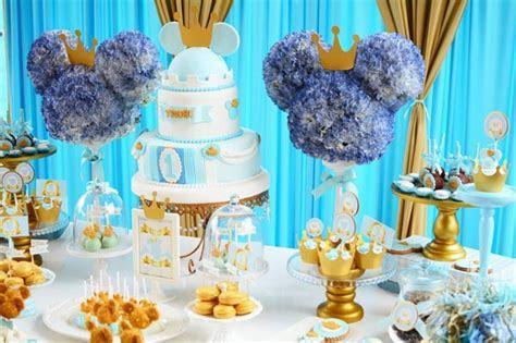 Royal Mickey Birthday Party