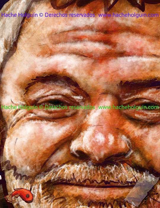 Retrato de Luiz Inácio Lula da Silva por Hache Holguín, detalle