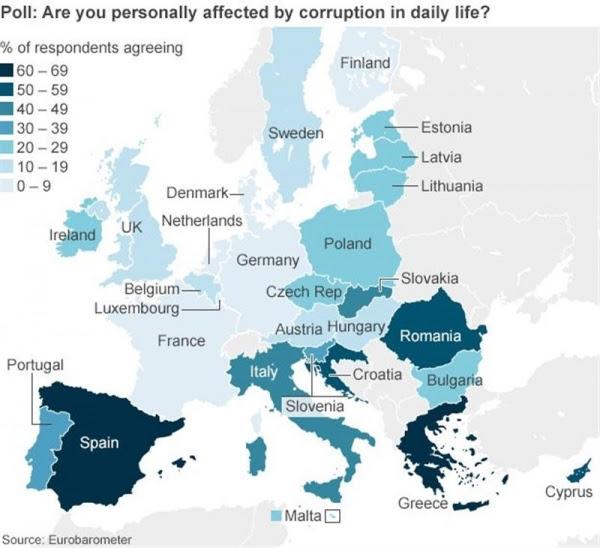 EU corruption probe points finger at Spain