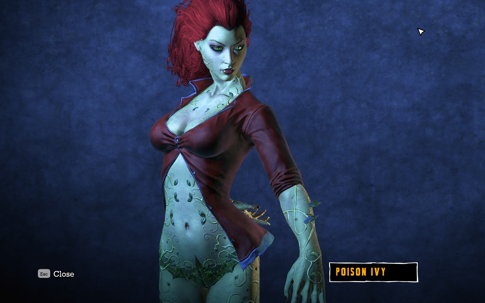 Arkham Asylum Poison Ivy Cosplay Batman