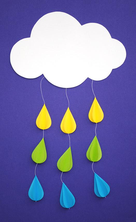 Mini Eco Cloud and Rain Mobile