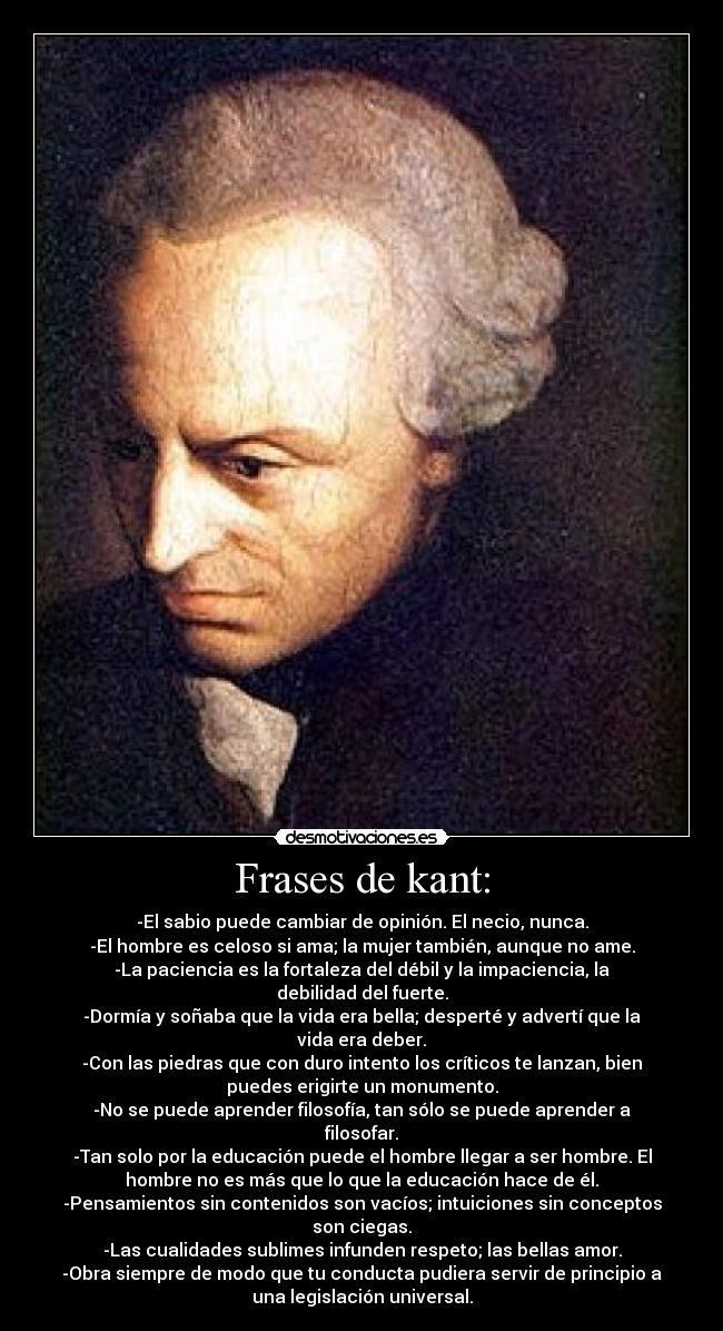 Frases De Immanuel Kant Sobre O Amor Muharram X