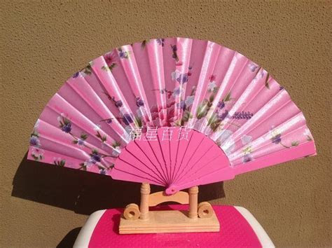 Portable Ladies Folding Hand Held Fans Wedding Party Favor