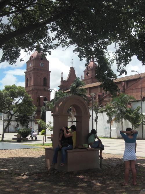 Una vista a la Catedral de Santa Cruz de la Sierra