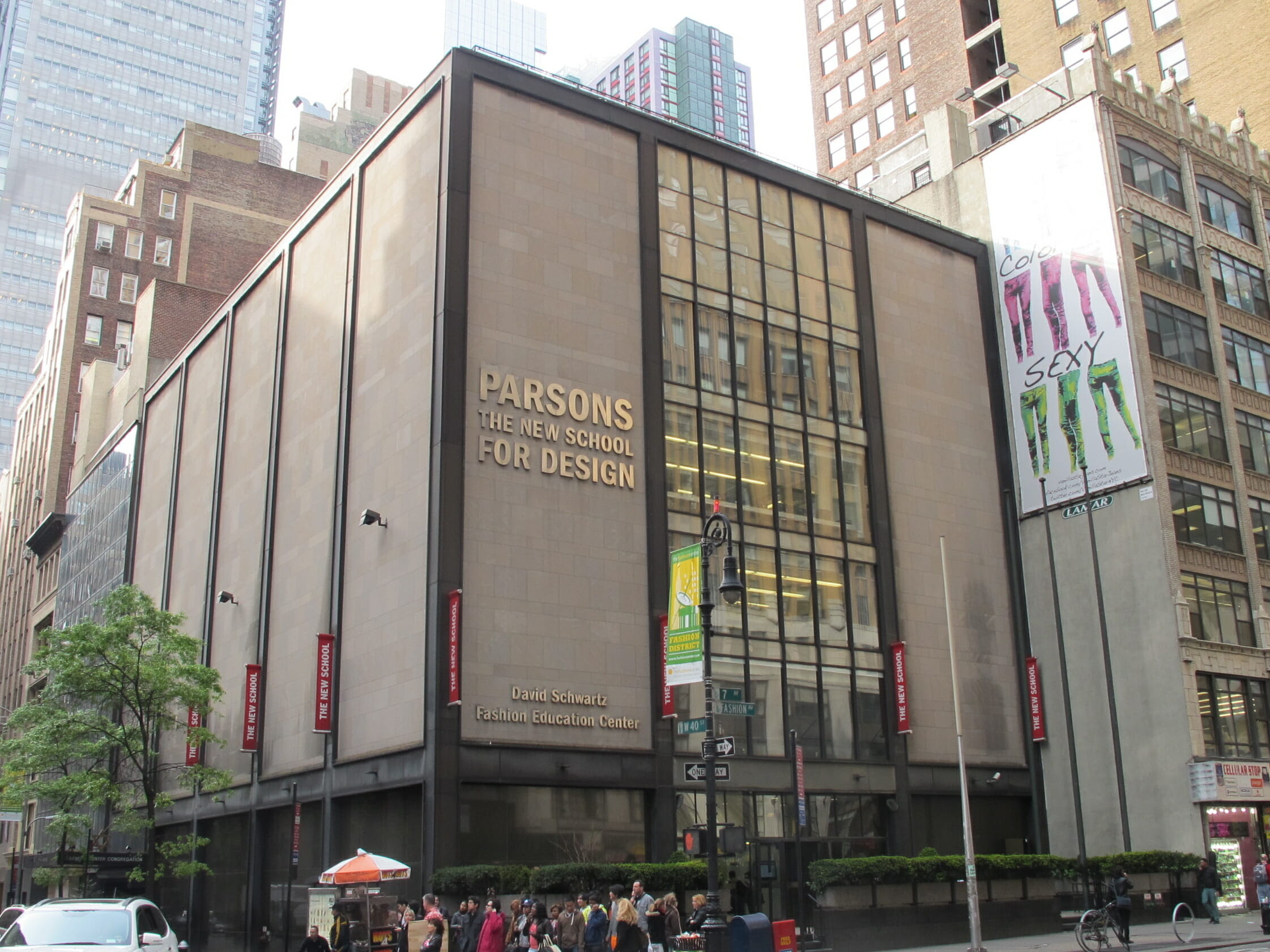 School Of Fashion Design In New York School Style