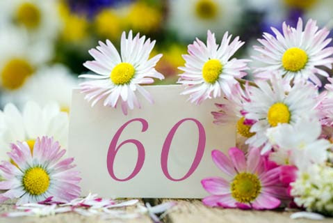 Einladung Zum 60 Geburtstag Schöne Einladung Geburtstag 60