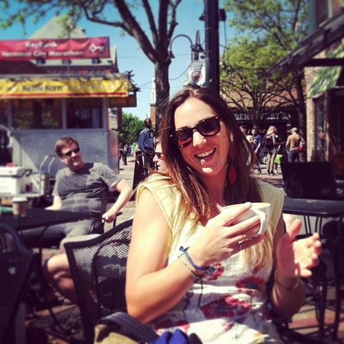Jen + coffee