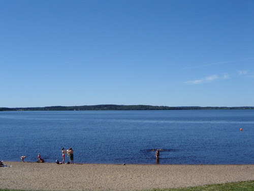 beach in Iisalmi