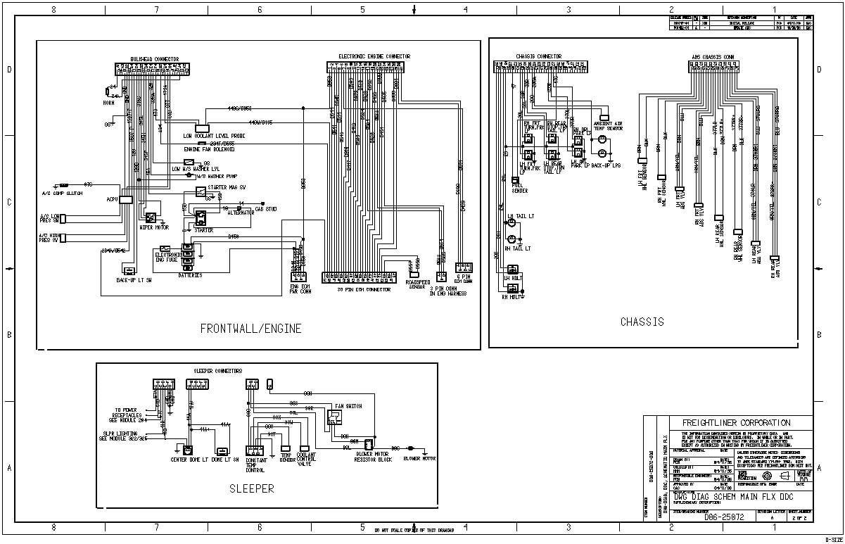 8a71 2005 Freightliner Radio Wiring Diagram Wiring Library