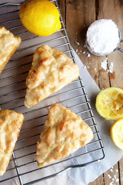 Lemon Cream Scones Picture