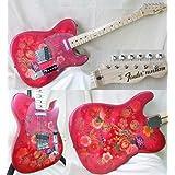 NEW Fender Japan TL69-SPL Telecaster RED PRO  JRD Paisley Flower Electric Guitar (Japan Import)