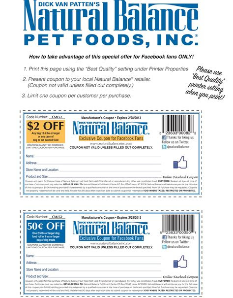 natural balance pet foods coupon  print coupon king