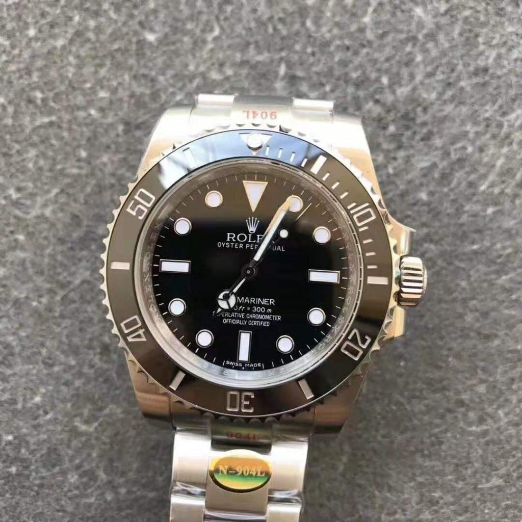 Rolex Submariner 114060 Black Dial