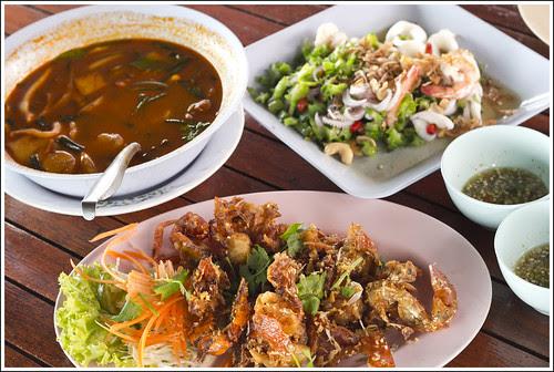 Lunch at Bang Mud Seafood