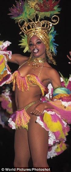 Estrella del cabaret de La Habana