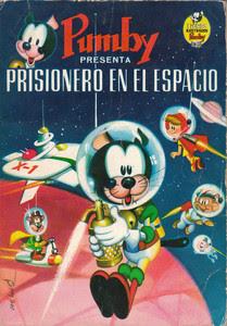 Portada de un cómic del gato 'Pumby'.
