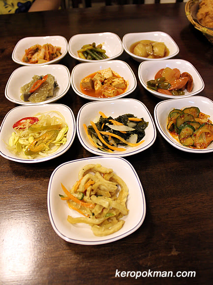 Lots of side dishes...