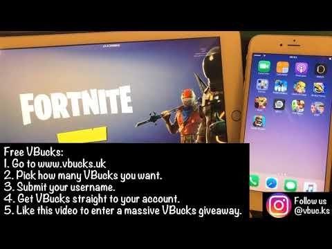 How To Get Free V Bucks Ps4 Ad | Fortnite Generator 2018 No
