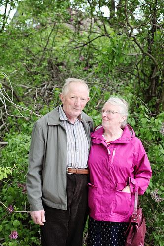 canadian tulip festival, with grandparents
