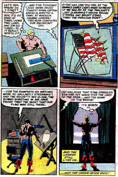 Captain America #255