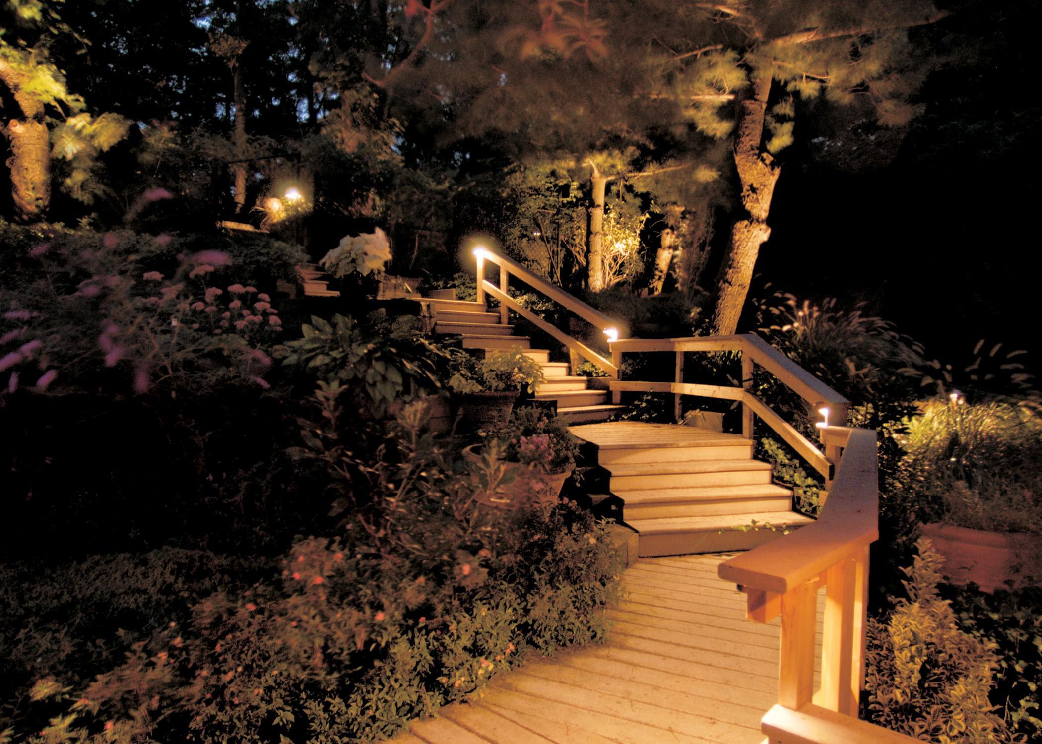 28 Perfect Patio Step Lights pixelmari