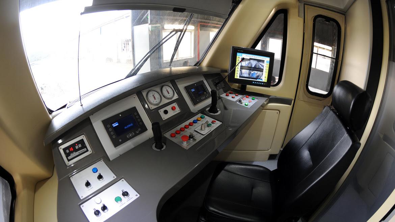 Las formaciones tiene capacidad para 240 pasajeros