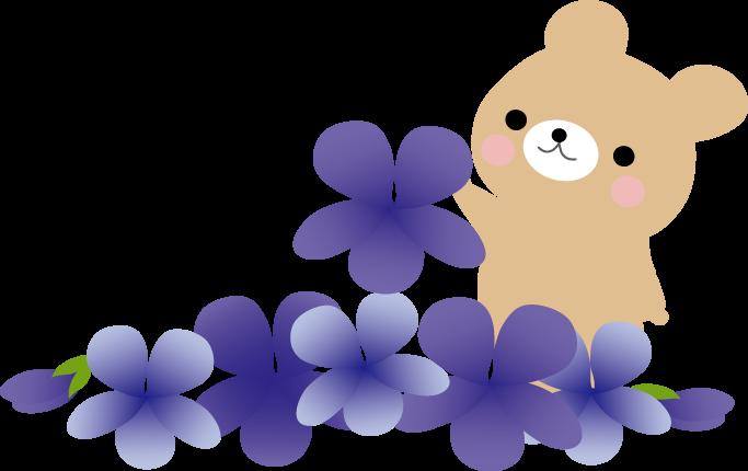 春すみれスミレのイラスト無料イラストフリー素材