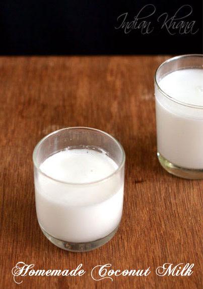 Homemade Coconut Milk How to make Coconut Milk