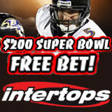 Intertops Sportsbook Offering Super Bowl Bettors $200 Free Bet