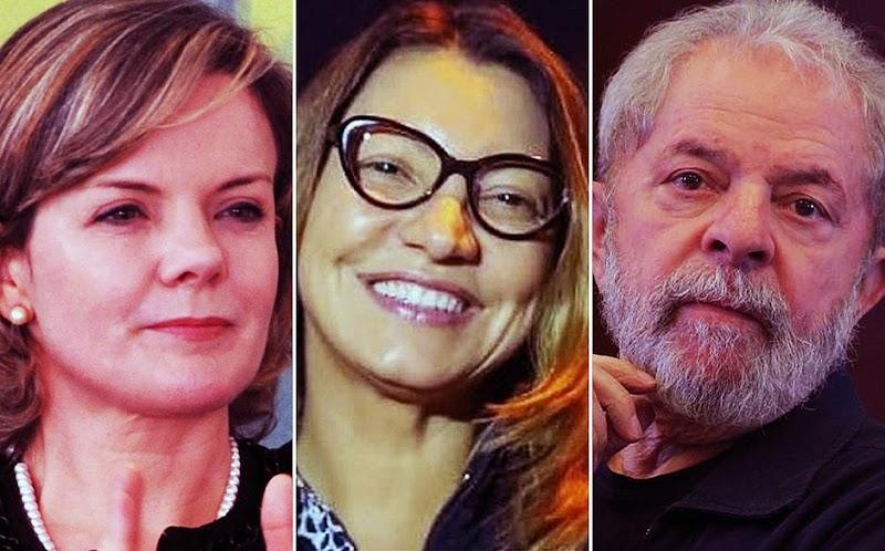Contratada por Gleisi, namorada de Lula tem salário de R$ 17 mil em estatal