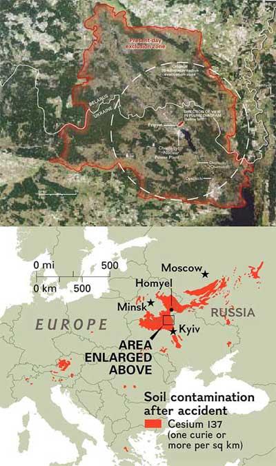 Chernobyl Contamination Area JPG