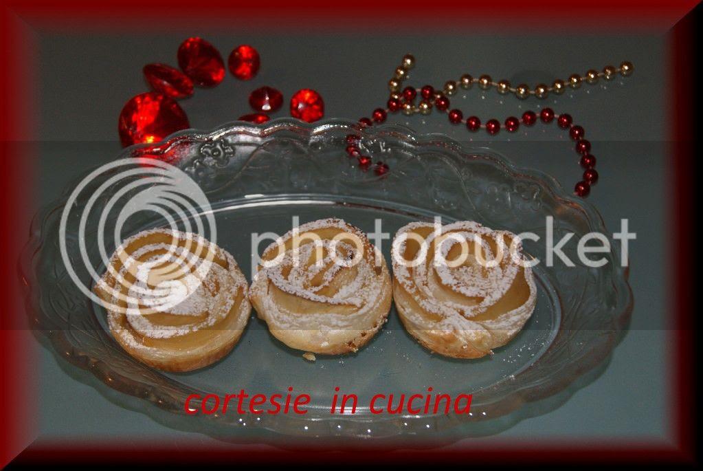 Rose dolci di mele