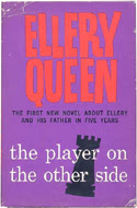 The Player on the Other Side by Ellery Queen ghostwritten by Theodore Sturgeon