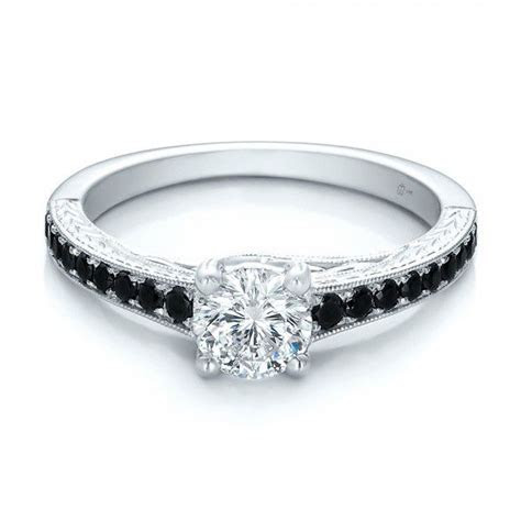 BLACK DIAMOND ENGAGEMENT RINGS   Custom Black Diamond