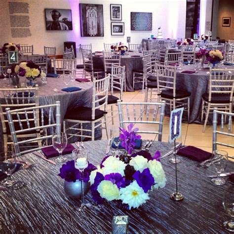 30 best images about purple and silver wedding on