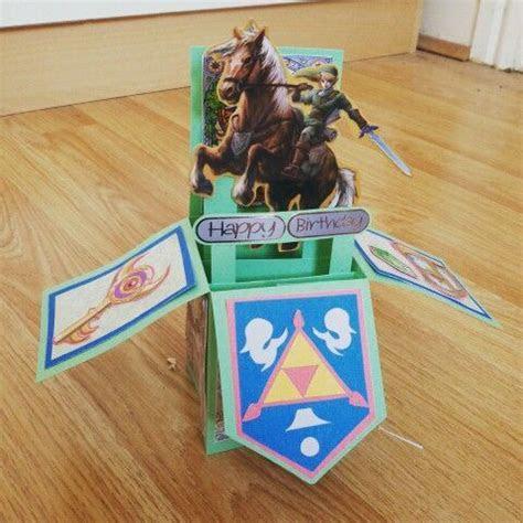 The Legend of Zelda birthday card   Cards   Zelda birthday