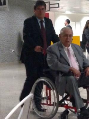 Pedro Corrêa no Aeroporto Internacional Afonso Pena, na Região Metropolitana de Curitiba (Foto: arquivo pessoal)