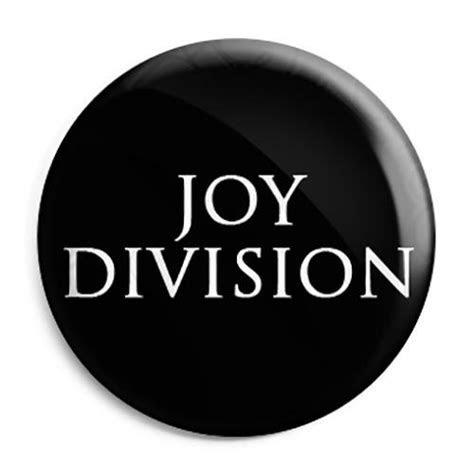 Joy Division   Closer Font Logo   Button Badge, Fridge