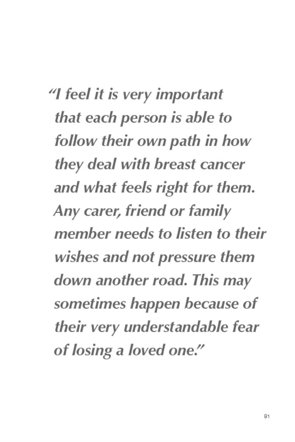 Estee Lauder Campaign Breast Cancer Quotes
