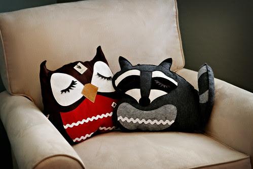 Project Nursery:  Stuffed Friends