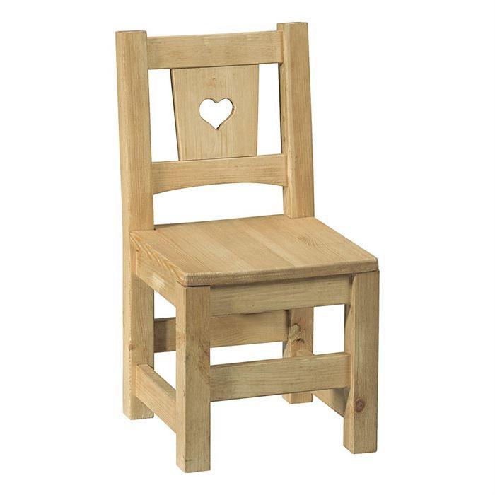 Crations chaise enfant bois sur A Little Market