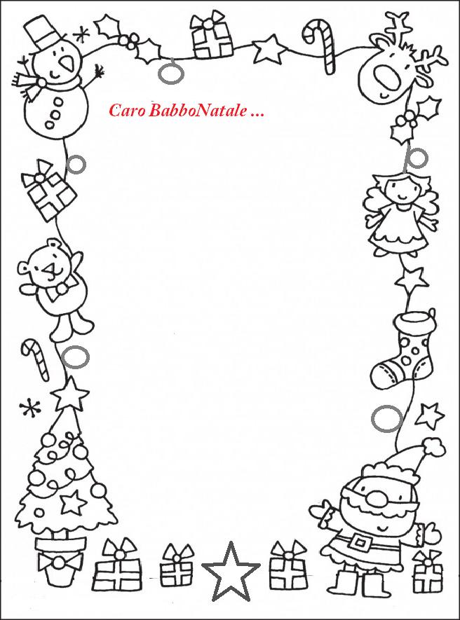 Come Scrivere La Letterina A Babbo Natale 5 Letterine Peppa Pig