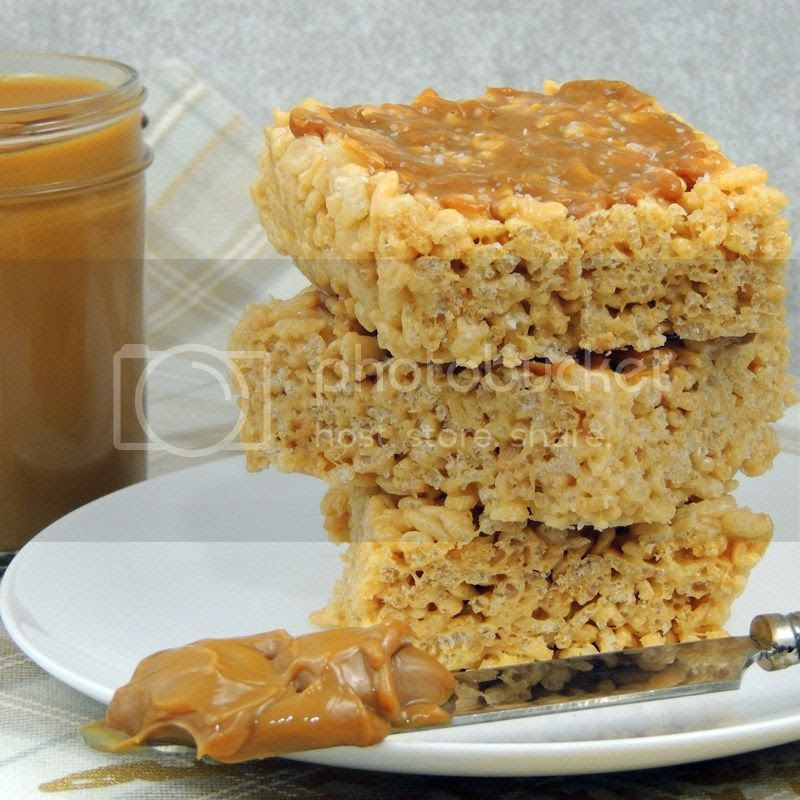 Dulce de Leche Rice Crispy Treats