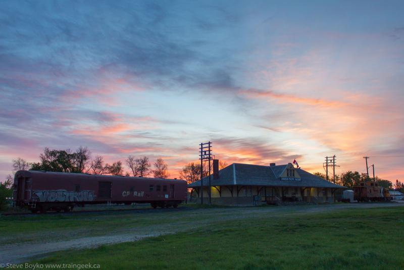 CP station in Portage la Prairie