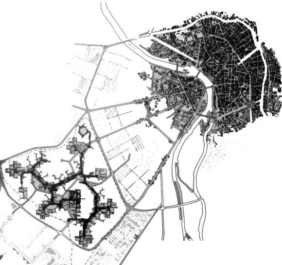 J-L Marfaing; Bernard Catllar; et al, Toulouse 45-75, la ville mise à jour : architecture et urbanisme, (Portet-sur-Garonne : Loubatières ; Toulouse: CAUE 31, 2009), 38. Extraído de: https://agingmodernism.wordpress.com/lemirail/
