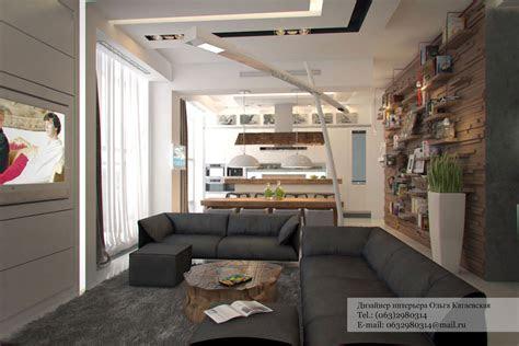 studio apartment architected  ola kataevskaj