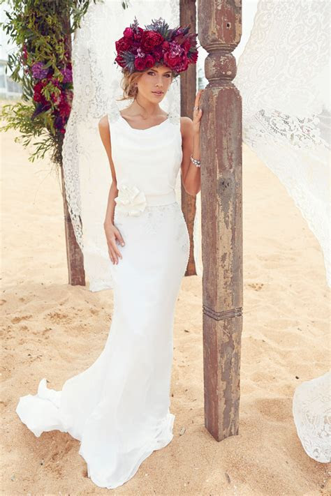 Blooms by the Sea   Beach Wedding Dresses