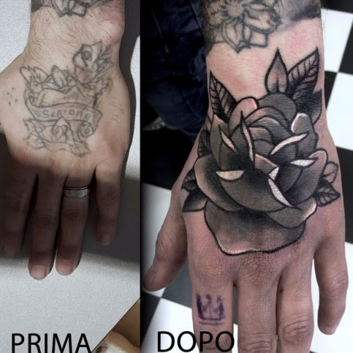 Hand Tattoo Cover Up Best Tattoo Ideas Gallery